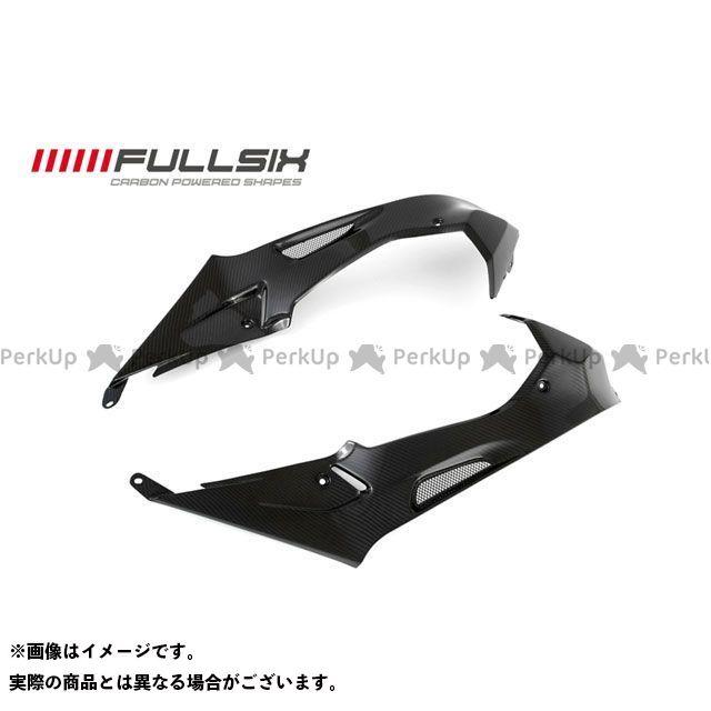 フルシックス S1000RR タンクカウルセット コーティング:クリアコート(艶あり) カーボン繊維の種類:245Twill 綾織り FULLSIX