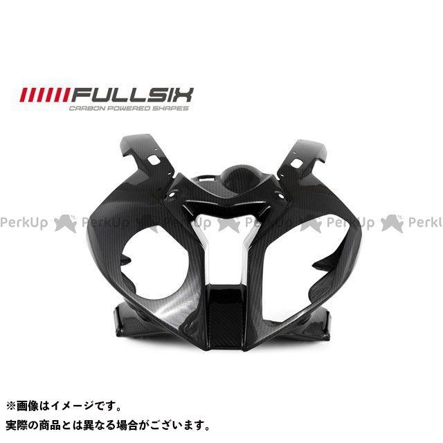 フルシックス S1000RR ヘッドライトアッパーカウル 純正形状 マットコート(艶なし) 200Plain 平織り FULLSIX