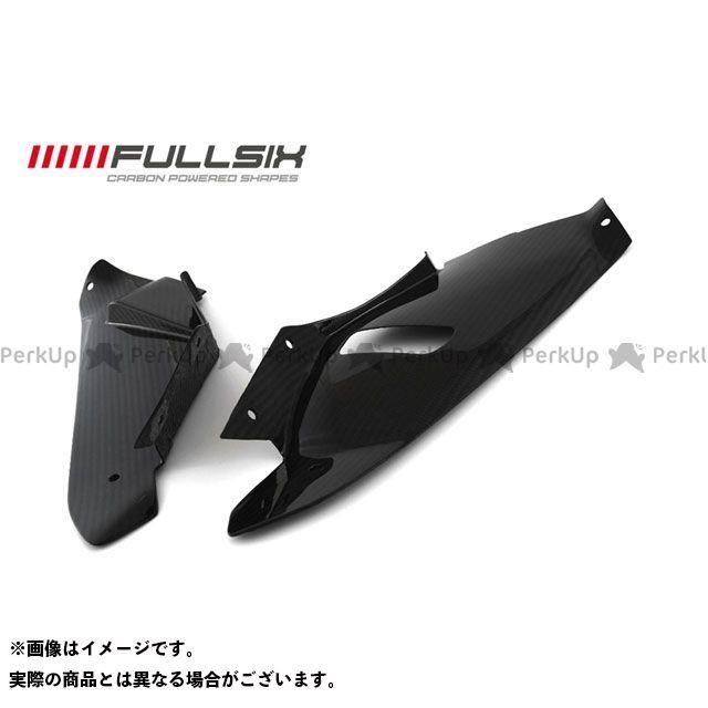 フルシックス S1000RR カウル・エアロ アッパーフェアリングカバー 左右セット クリアコート(艶あり) 245Twill 綾織り