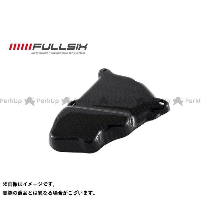 フルシックス S1000RR イグニッションローターカバー コーティング:クリアコート(艶あり) カーボン繊維の種類:245Twill 綾織り FULLSIX