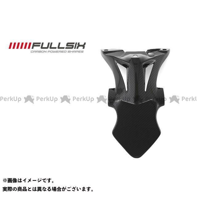 フルシックス S1000RR ナンバープレートホルダー コーティング:クリアコート(艶あり) カーボン繊維の種類:245Twill 綾織り FULLSIX