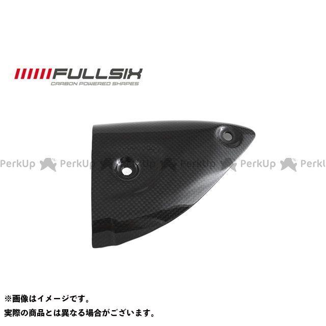 フルシックス 1199パニガーレ エキゾーストヒートガード TERMIGNONIマフラー用 左側 コーティング:クリアコート(艶あり) カーボン繊維の種類:245Twill 綾織り FULLSIX