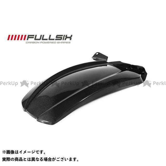 フルシックス ムルティストラーダ1200 リアフェンダー ロング コーティング:マットコート(艶なし) カーボン繊維の種類:200Plain 平織り FULLSIX