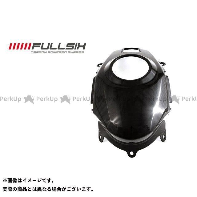 フルシックス ムルティストラーダ1200 タンクカバー コーティング:マットコート(艶なし) カーボン繊維の種類:200Plain 平織り FULLSIX