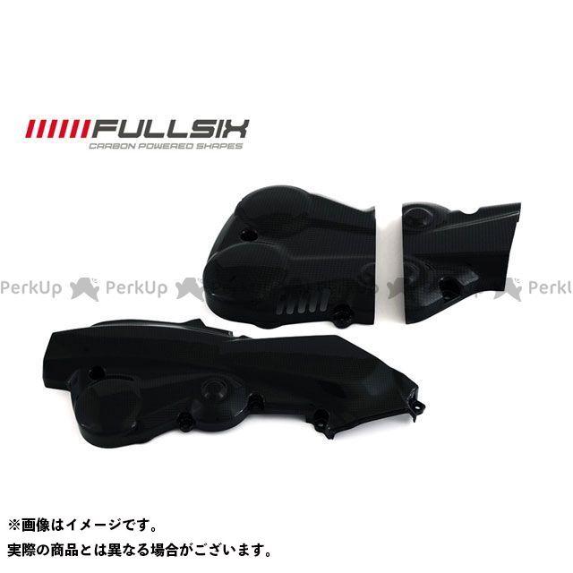 フルシックス ムルティストラーダ1200 ドレスアップ・カバー タイミングベルトカバーセット クリアコート(艶あり) 200Plain 平織り