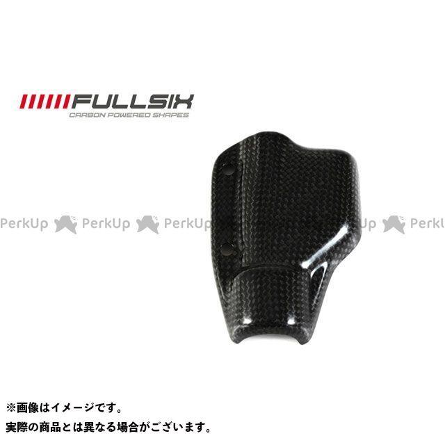 フルシックス ストリートファイター リアブレーキレザーバーカバー コーティング:クリアコート(艶あり) カーボン繊維の種類:245Twill 綾織り FULLSIX