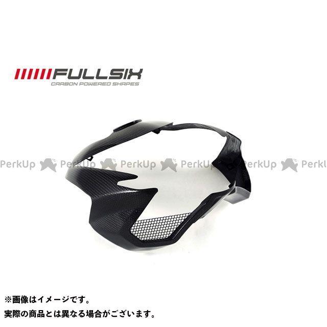 フルシックス ストリートファイター ヘッドライトカバー STREET コーティング:マットコート(艶なし) カーボン繊維の種類:245Twill 綾織り FULLSIX