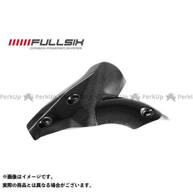 フルシックス ストリートファイター エキゾーストプロテクター コーティング:クリアコート(艶あり) カーボン繊維の種類:200Plain 平織り FULLSIX