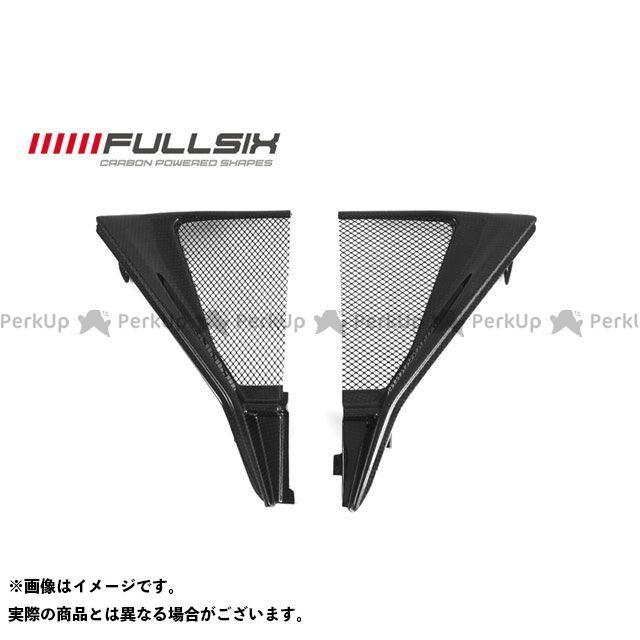 フルシックス F3 675 F3 800 ラジエターカウル コーティング:クリアコート(艶あり) カーボン繊維の種類:200Plain 平織り FULLSIX