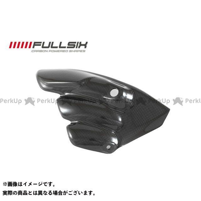 フルシックス F3 675 F3 800 マフラープロテクター 純正形状 コーティング:クリアコート(艶あり) カーボン繊維の種類:245Twill 綾織り FULLSIX