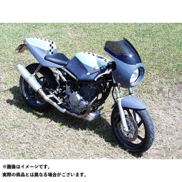 ガルクラフト グース250 グース350 ブレットビキニ タイプC(スモーク) カウルカラー:ブラック 019 GULL CRAFT