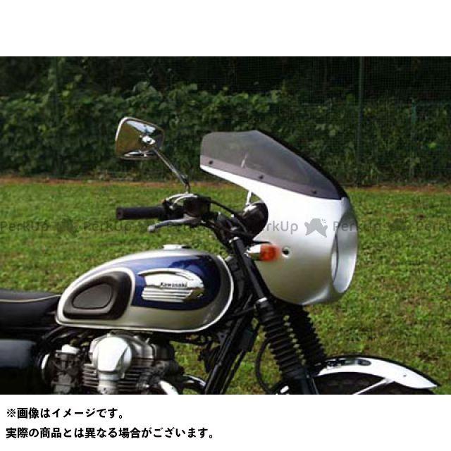 ガルクラフト W650 ブレットビキニ タイプC(スモーク) カウルカラー:ルミナスビンテージレッド GULL CRAFT