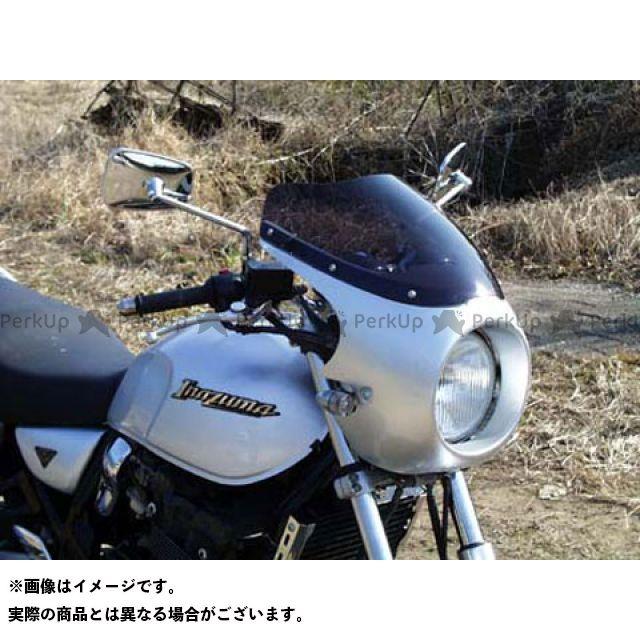 ガルクラフト イナズマ1200 イナズマ400 ブレットビキニ タイプC(スモーク) カウルカラー:パールノベルティブラック GULL CRAFT
