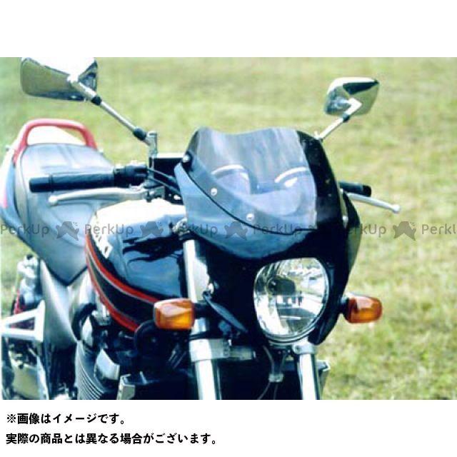 ガルクラフト GSX1400 ブレットビキニ タイプM(スモーク) カウルカラー:ソリッドブラック 019 GULL CRAFT