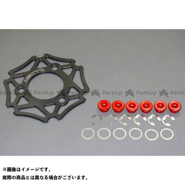 【エントリーで最大P21倍】ネクト レーシングディスクローター用インナーキット カラー:ブラック/オレンジ NECTO