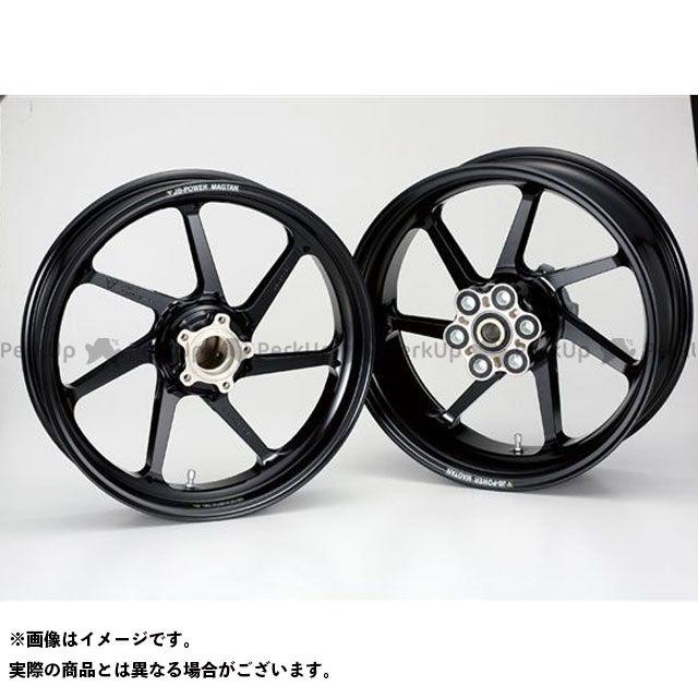 ビトーR&D ZRX1100 ホイール本体 マグネシウム鍛造ホイール セット MAGTAN JB4 フロント:3.50-17/リア:6.00-17 ブラック