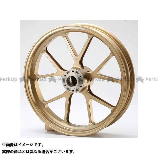 ビトーR&D TRX850 ホイール本体 マグネシウム鍛造ホイール セット MAGTAN JB3 フロント:3.50-17/リア:5.00-17 ゴールド
