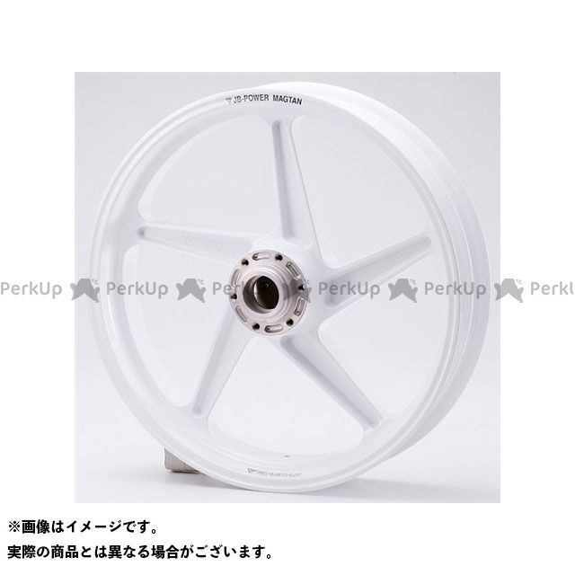 ビトーR&D GSX-R1000 マグネシウム鍛造ホイール セット MAGTAN JB2 フロント:3.50-17/リア:6.00-17 カラー:ホワイト BITO R&D