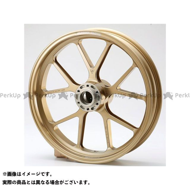 ビトーR&D GSX-R1000 ホイール本体 マグネシウム鍛造ホイール セット MAGTAN JB3 フロント:3.50-17/リア:6.00-17 ゴールド