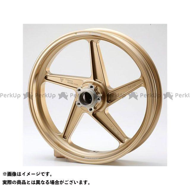 ビトーR&D バンディット1200 ホイール本体 マグネシウム鍛造ホイール セット MAGTAN JB2 フロント:3.50-17/リア:5.50-17 ゴールド