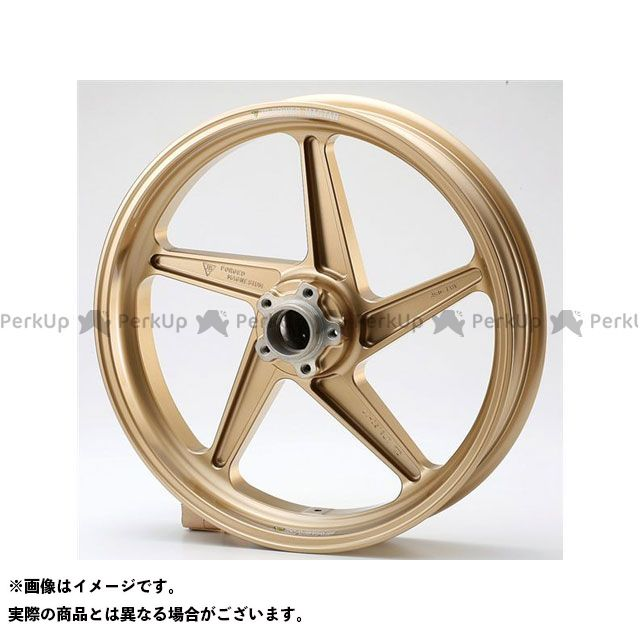 ビトーR&D GS1200SS ホイール本体 マグネシウム鍛造ホイール セット MAGTAN JB2 フロント:3.50-17/リア:5.50-17 ゴールド