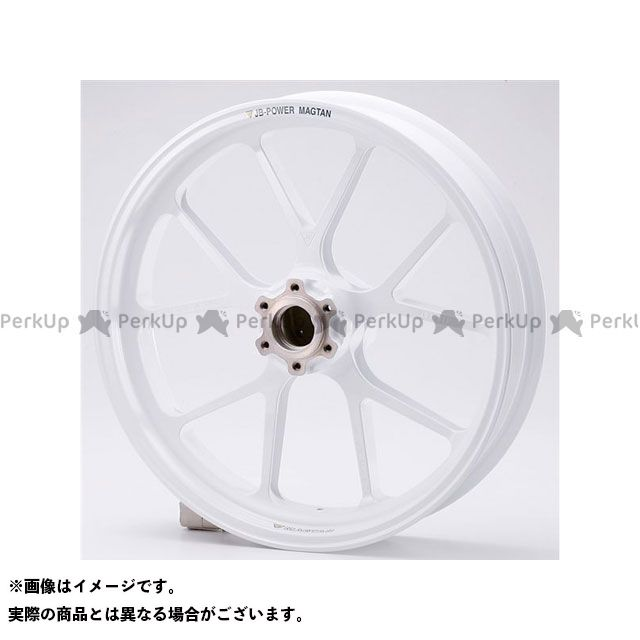 ビトーR&D CBR600RR ホイール本体 マグネシウム鍛造ホイール セット MAGTAN JB3 フロント:3.50-17/リア:5.50-17 ホワイト