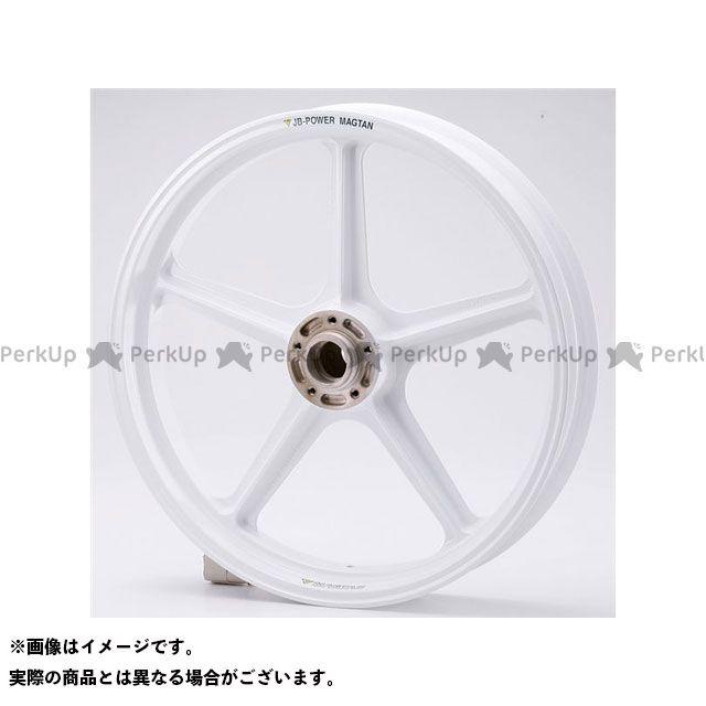 ビトーR&D CB750F マグネシウム鍛造ホイール セット MAGTAN JB1 フロント:3.00-18/リア:4.50-18 カラー:ホワイト BITO R&D