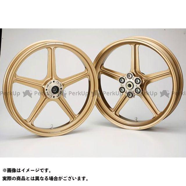 ビトーR&D CBX ホイール本体 マグネシウム鍛造ホイール セット MAGTAN JB1 フロント:3.00-18/リア:4.50-18 ゴールド