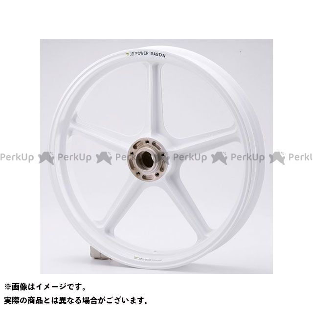 ビトーR&D CBX ホイール本体 マグネシウム鍛造ホイール セット MAGTAN JB1 フロント:3.00-18/リア:4.50-18 ホワイト