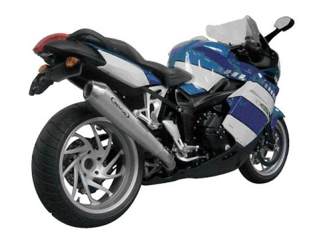 送料無料 レムス K1200R K1200Rスポーツ K1200S マフラー本体 スリップオン キャタライザー付き ストリート・リーガル PowerCone 07- K1200S/K1200R/K1200R sport ステンレス製