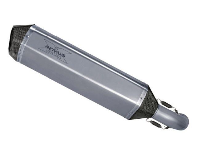 送料無料 レムス GSX-R1000 マフラー本体 スリップオン LR ST・リーガル HEXACONE 07- for GSX-R1000 ステン製