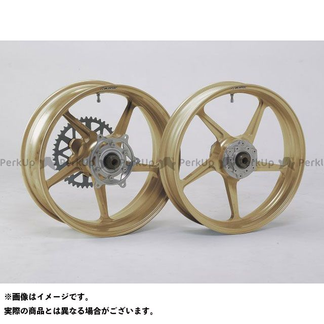 ゲイルスピード CBR900RRファイヤーブレード エックスフォー ホイール本体 TYPE-C フロント(350-17) ゴールド