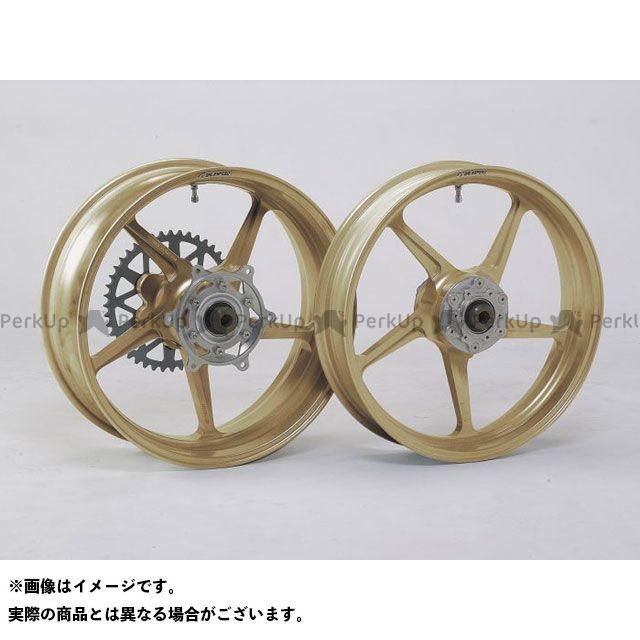 ゲイルスピード GSX1400 ホイール本体 TYPE-C フロント(350-17) ゴールド