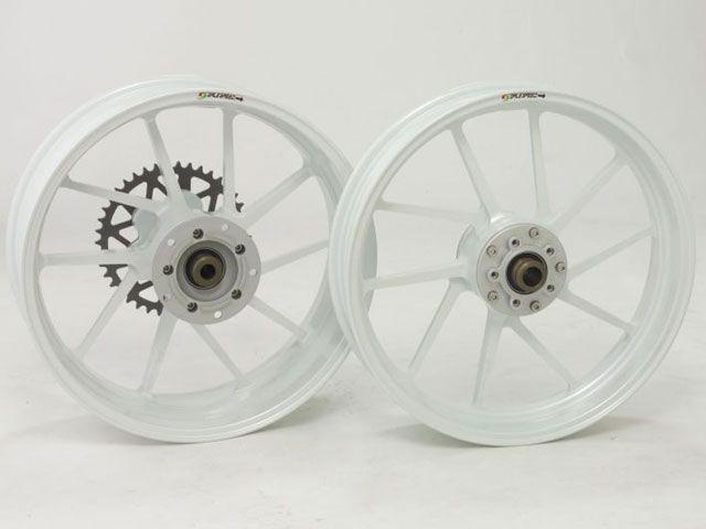 ゲイルスピード ZRX1200R ホイール本体 TYPE-R リア(550-17) パールホワイト