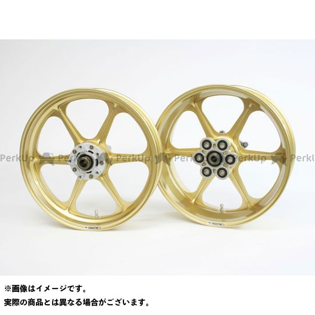 ゲイルスピード Z1000MK- ホイール本体 TYPE-N フロント(300-18) ゴールド