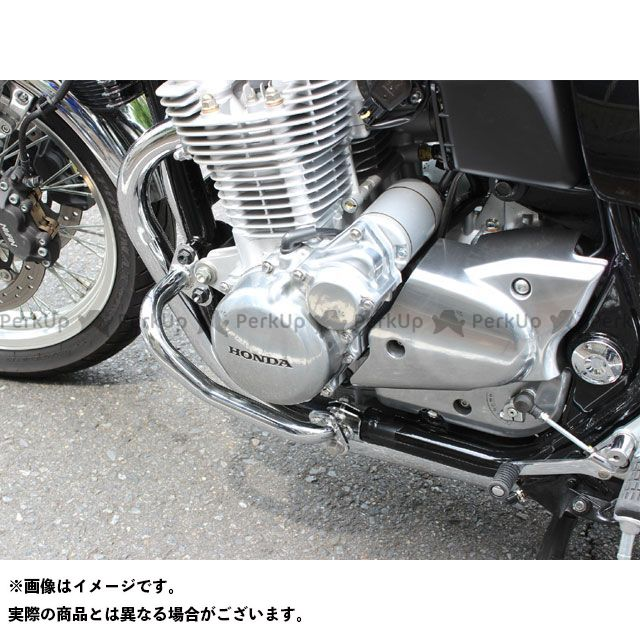 キジマ CB1100 CB1100EX エンジンガード 左右セット カラー:ブラック KIJIMA