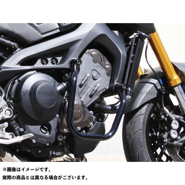 キジマ MT-09 トレーサー900・MT-09トレーサー XSR900 エンジンガード(ブラック) KIJIMA
