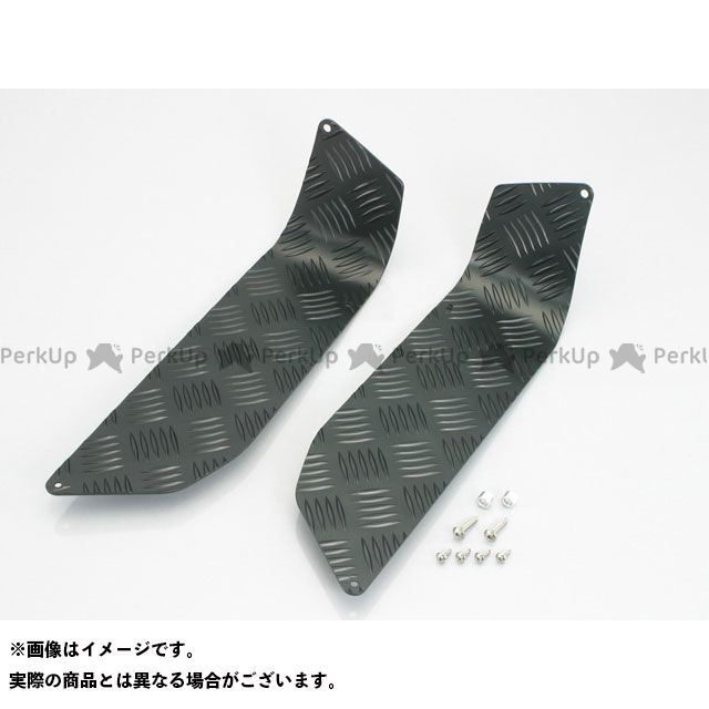【エントリーで更にP5倍】キタコ ビーウィズ ステップボード カラー:ブラック KITACO