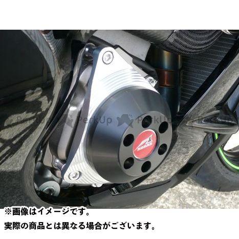 アグラス ニンジャZX-10R エンジンカバー関連パーツ レーシングスライダー ジェネレーターC ジュラコン/ブラック