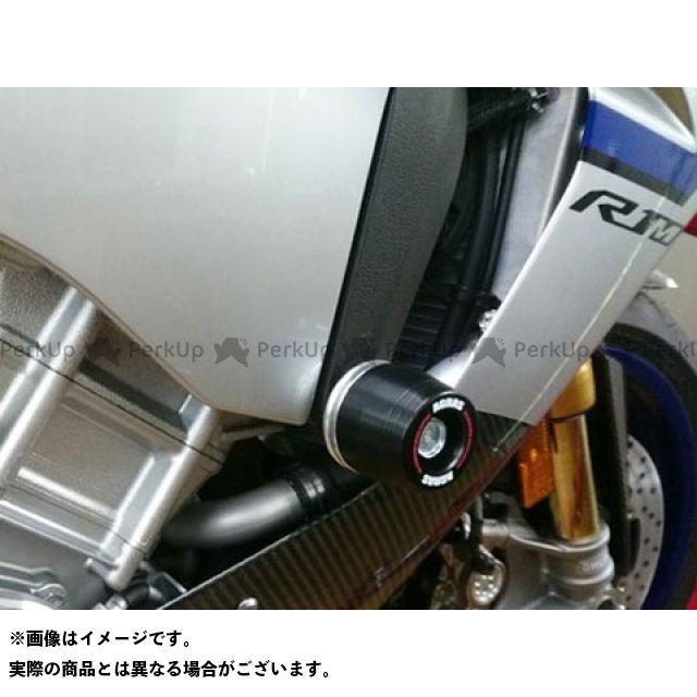 【エントリーで最大P23倍】アグラス YZF-R1 YZF-R1M レーシングスライダー フレームφ50 カラー:ジュラコン/ブラック タイプ:ロゴ無 AGRAS
