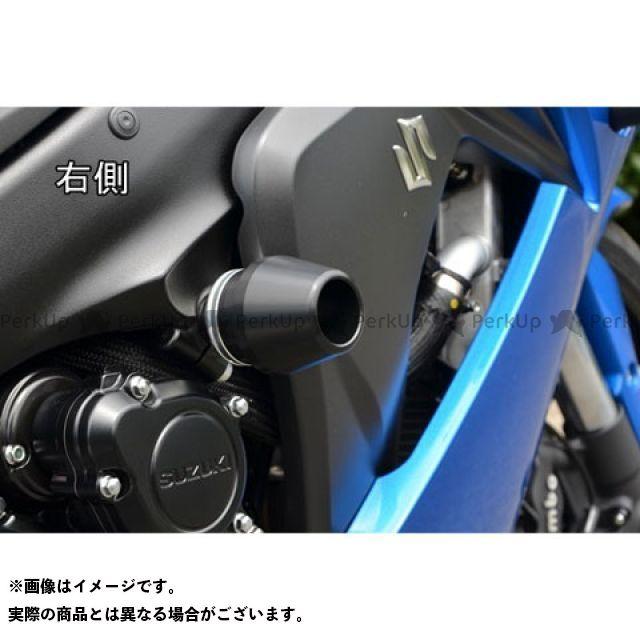 アグラス GSX-S1000 GSX-S1000F カタナ レーシングスライダー フレームφ60 カラー:ジュラコン/ホワイト AGRAS