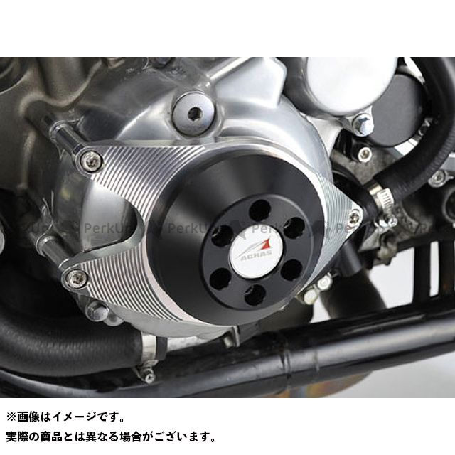 アグラス CB1300スーパーフォア(CB1300SF) スライダー類 レーシングスライダー ジェネレーターA ジュラコン/ブラック