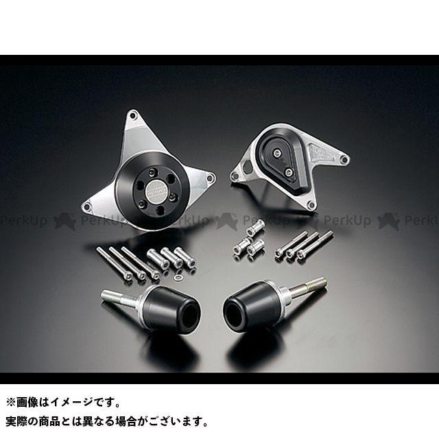 アグラス CBR600RR スライダー類 レーシングスライダー 4点SET A ジュラコン/ホワイト ロゴ有