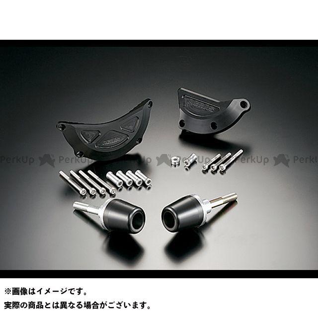 アグラス CBR600RR スライダー類 レーシングスライダー 4点SET B ジュラコン/ホワイト ロゴ有
