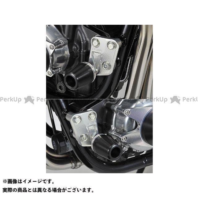 アグラス CB1100 スライダー類 レーシングスライダー エンジンハンガー ジュラコン/ホワイト ロゴ無