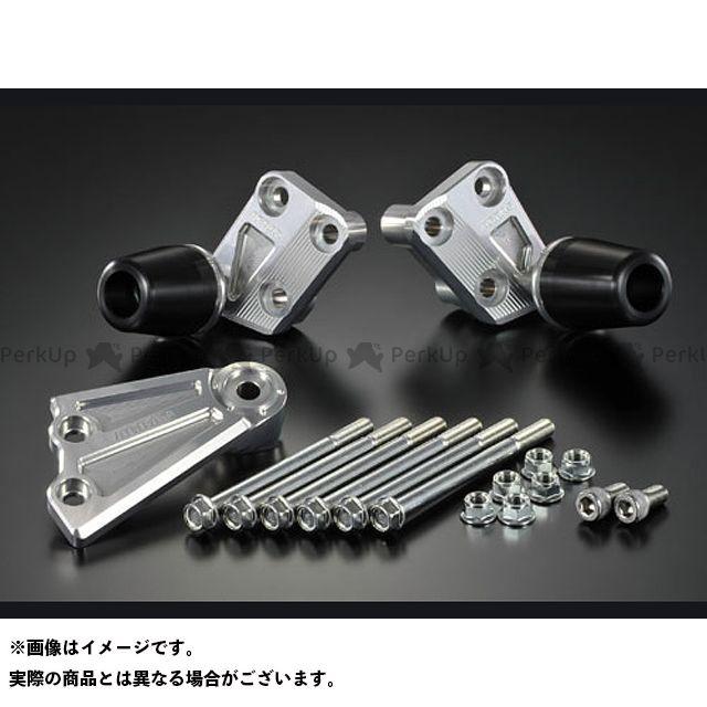 【無料雑誌付き】アグラス CB1100 レーシングスライダー エンジンハンガーSET カラー:ジュラコン/ホワイト タイプ:ロゴ無 AGRAS