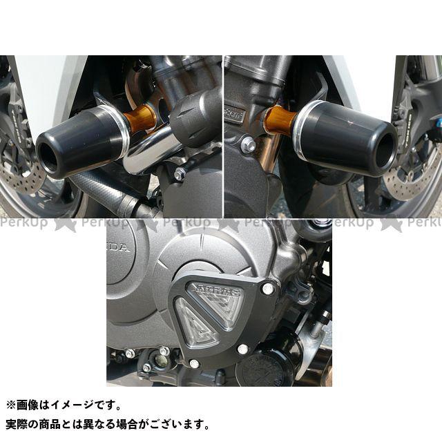 アグラス CB1000R レーシングスライダー 3点SET 60φ クランクB カラー:ジュラコン/ホワイト AGRAS