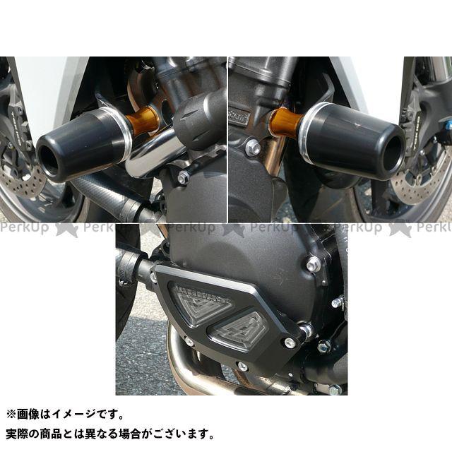 アグラス CB1000R レーシングスライダー 3点SET 60φ ジェネB カラー:ジュラコン/ホワイト AGRAS