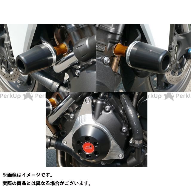 【エントリーで最大P21倍】アグラス CB1000R レーシングスライダー 3点SET 60φ ジェネC カラー:ジュラコン/ブラック AGRAS