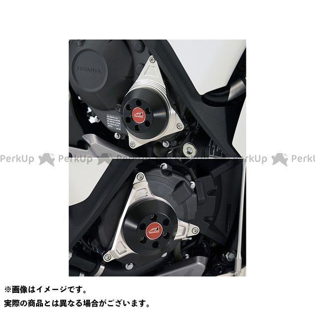 アグラス CBR1000RRファイヤーブレード スライダー類 レーシングスライダー 2点セット ジュラコン/ホワイト